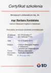 Szkolenie BD FACSCalibur BD CellQuest Pro - Barbara Kordalska
